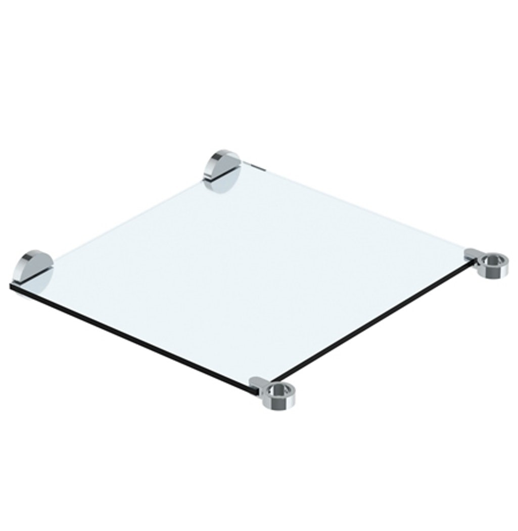 WATERMARK CON30-URB-0.8 URBANE 25 1/2 INCH WALL MOUNT TEMPERED GLASS SHELF FOR 30 INCH CONSOLE