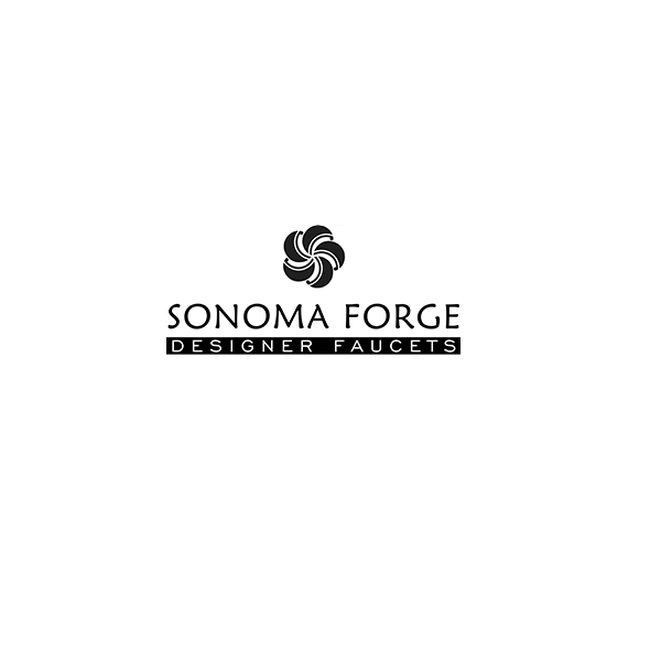 SONOMA FORGE WB-RTF-DM-LBO-HS WATERBRIDGE TWO HOLES DECK MOUNT BRIDGE TUB FILLER WITH ELBOW SPOUT AND HAND SHOWER