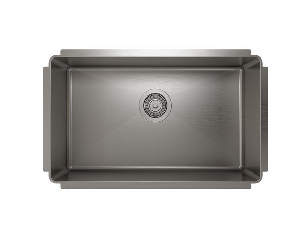 Julien IH75-US-291810 ProInox H75 29 Inch Undermount Single Bowl 18 Gauge Stainless Steel Kitchen Sink