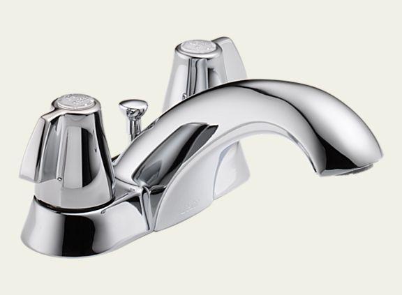 Delta 2520LF-MPU Classic Two Handle Centerset Lavatory Faucet