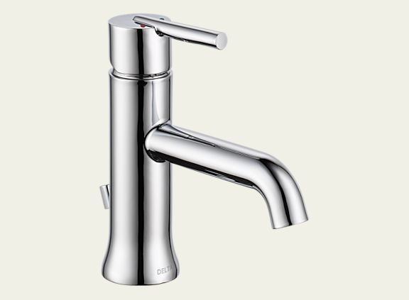Delta 559LF-MPU Trinsic 1.2 GPM Single Handle Lavatory Faucet - Metal Pop-Up