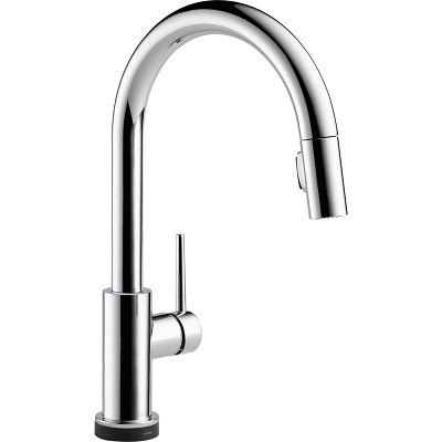 DELTA 9159T-DST TRINSIC SINGLE HANDLE PULL-DOWN KITCHEN FAUCET WITH TOUCH20 TECHNOLOGY