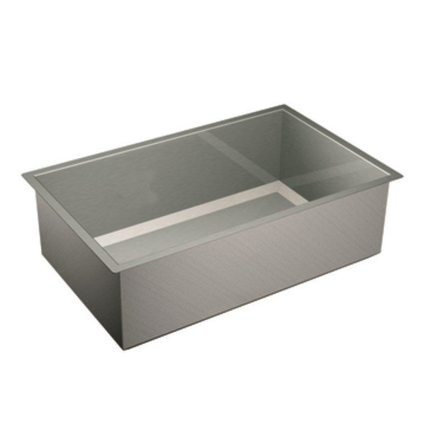 MOEN G16100 1600 SERIES 32 INCH SINGLE BOWL SINK - 16 GAUGE