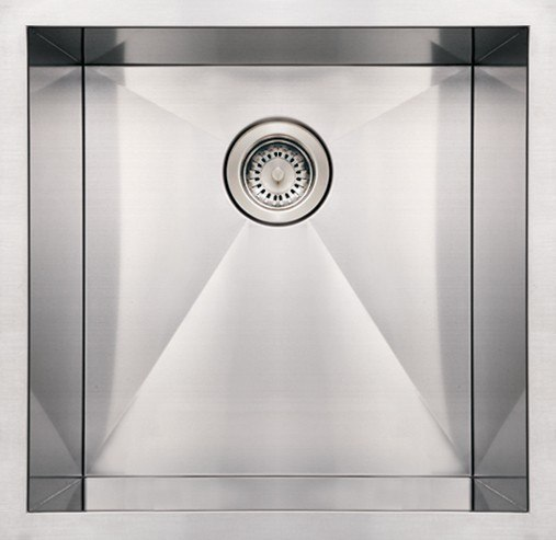 WHITEHAUS WHNCM1920 19 INCH NOAH'S COLLECTION COMMERCIAL SINGLE BOWL UNDERMOUNT SINK