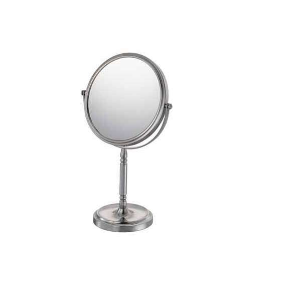 APTATIONS 866 7-7/8 INCH RECESSED BASE FREESTANDING MAGNIFIED MIRROR