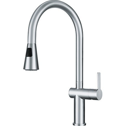 Franke FF20750 Bern Pull Down Kitchen Faucet with Spray - Stainless Steel