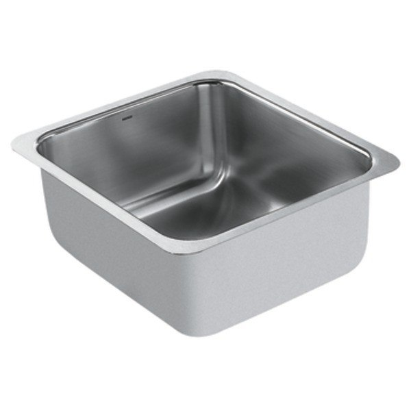 Moen G18443 1800 Series 16 Inch Single Bowl Sink