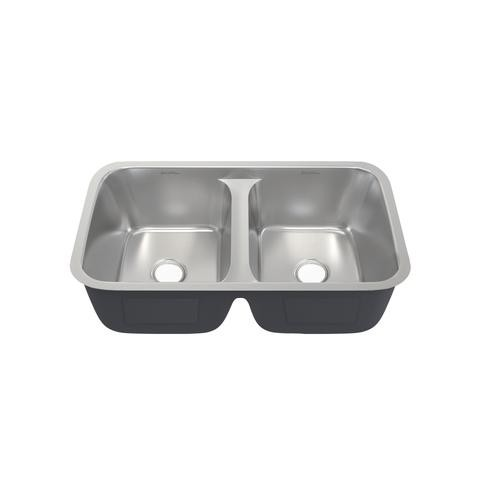 Swiss Madison Sm Ku631 Toulouse 32 X 19 Inch Low Divide Stainless Steel Dual Basin Undermount Kitchen Sink Sm Ku631