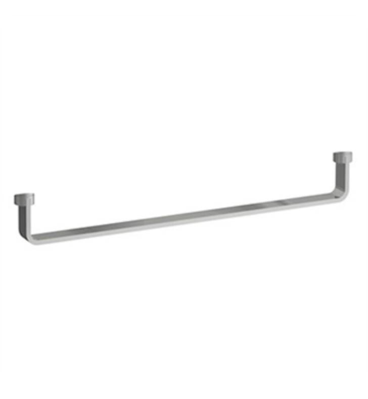 LAUFEN H8954230040001 LIVING CITY 17 1/2 INCH WALL MOUNT TOWEL HOLDER - CHROME
