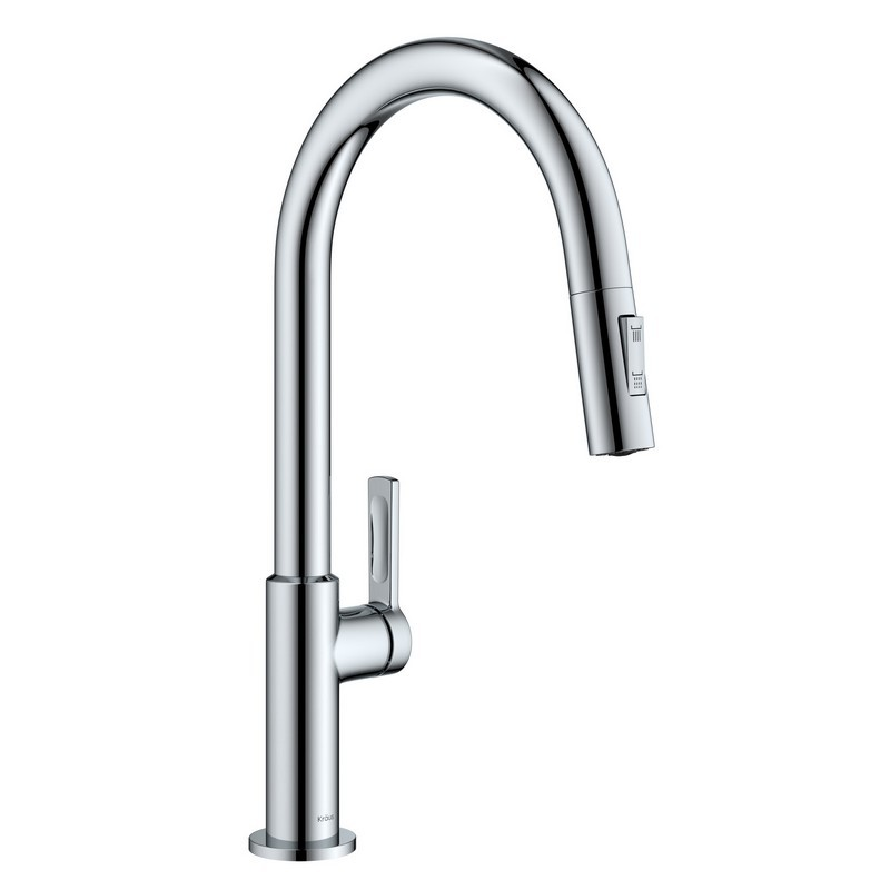 KRAUS KPF-2820 OLETTO SINGLE HANDLE PULL-DOWN KITCHEN FAUCET