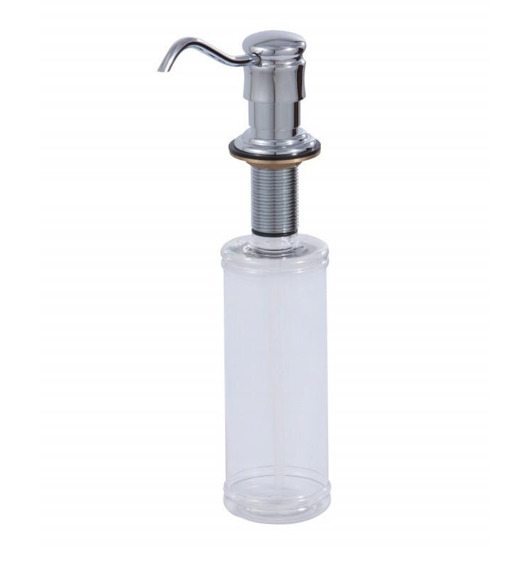 AQUABRASS ABAB40148 3 3/4 INCH DECK MOUNT SOAP DISPENSER