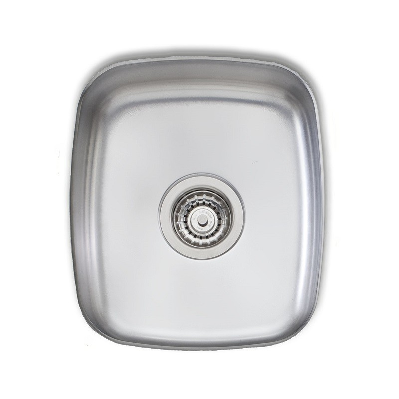 Novanni Ol430u 13 3 4 Inch Oliveri Single Bowl Stainless Steel Kitchen Sink