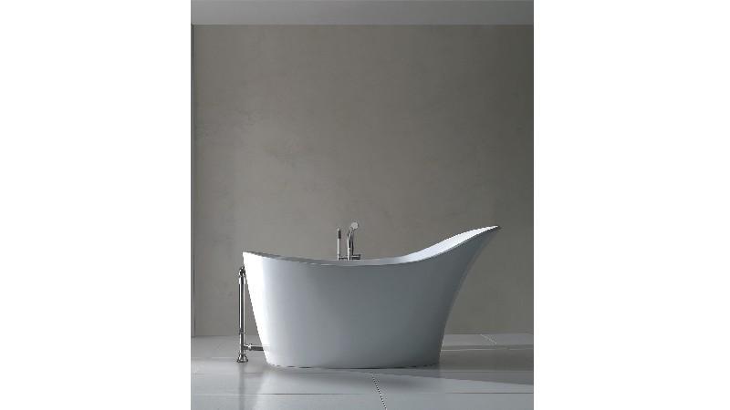 VICTORIA & ALBERT AML-N AMALFI 64 1/4 INCH FREESTANDING SOAKER BATHTUB