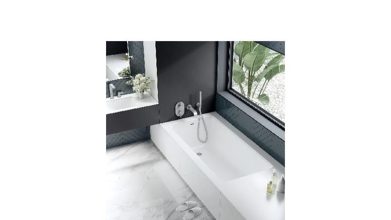 VICTORIA & ALBERT KAL1-N-SW-IO KALDERA 60 INCH DROP-IN AND UNDERMOUNT BATHTUB - STANDARD WHITE