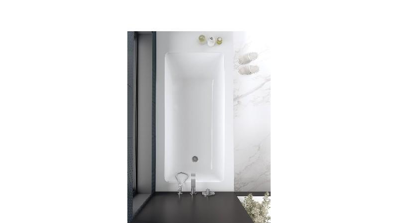 VICTORIA & ALBERT KAL3-N-SW-IO KALDERA 66 INCH DROP-IN AND UNDERMOUNT BATHTUB - STANDARD WHITE