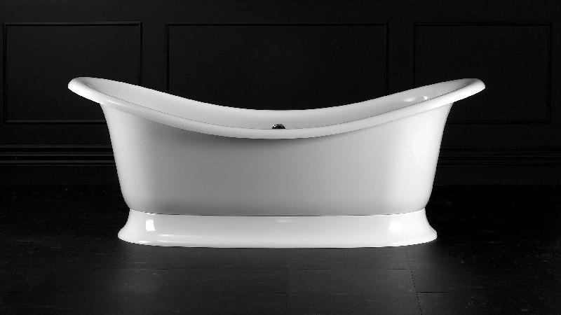 VICTORIA & ALBERT MAR-N-OF + MAR-B-OF MARLBOROUGH 74 7/8 INCH FREESTANDING SOAKER BATHTUB