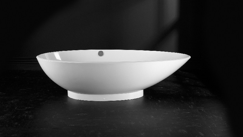 VICTORIA & ALBERT NAP-N NAPOLI 74 3/4 INCH FREESTANDING SOAKER BATHTUB