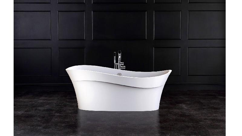 VICTORIA & ALBERT PES-N PESCADERO 66 1/4 INCH FREESTANDING SOAKER BATHTUB