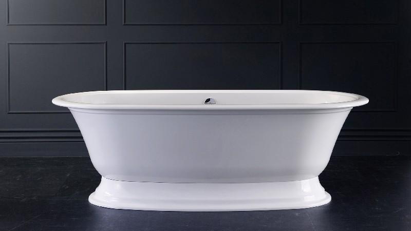 VICTORIA & ALBERT RAD-N-OF + ELW-B-OF ELWICK 74 7/8 INCH FREESTANDING SOAKER BATHTUB