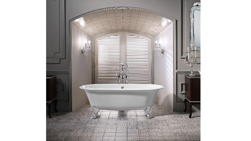 VICTORIA & ALBERT RAD-N-OF + FT-RAD RADFORD 74 7/8 INCH FREESTANDING SOAKER BATHTUB WITH CLAWFOOT