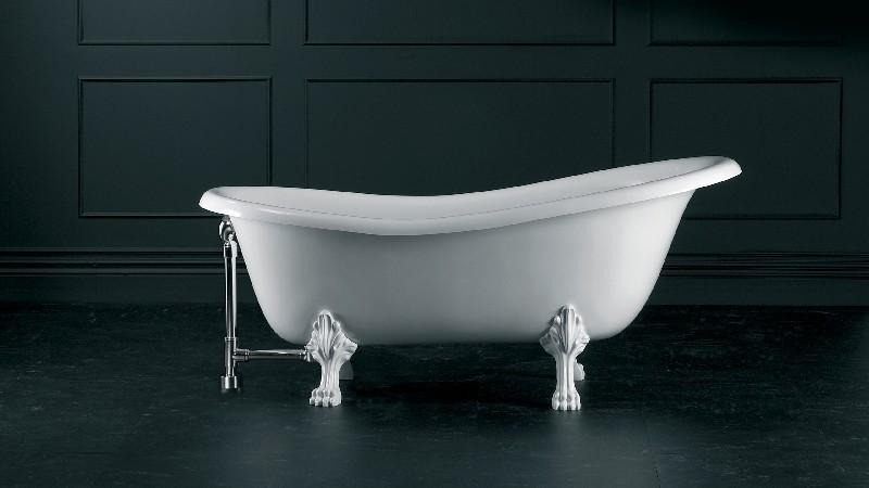 VICTORIA & ALBERT ROX-N-OF + FT-ROX ROXBURGH 67 1/8 INCH FREESTANDING SOAKER BATHTUB WITH CLAWFOOT