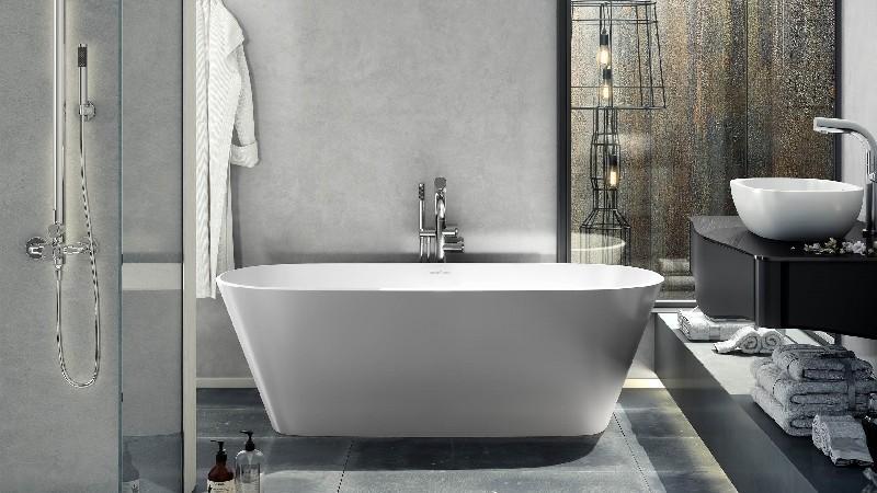 VICTORIA & ALBERT VE2-N VETRALLA 65 INCH FREESTANDING SOAKER BATHTUB