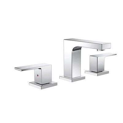 FRESCA FFT3801CH SESIA WIDESPREAD MOUNT BATHROOM VANITY FAUCET - CHROME