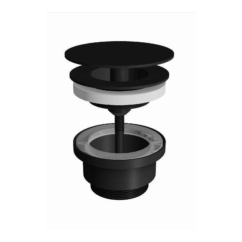 WS BATH COLLECTIONS WSBC 53976 1 3/4 INCH FREE WASTE DRAIN WITHOUT OVERFLOW
