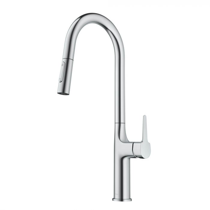 KRAUS KPF-3101 OLETTO TALL MODERN PULL-DOWN SINGLE HANDLE KITCHEN FAUCET