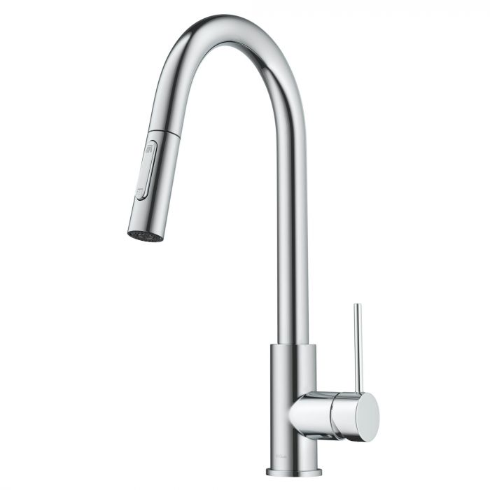 KRAUS KPF-3104 OLETTO CONTEMPORARY PULL-DOWN SINGLE HANDLE KITCHEN FAUCET