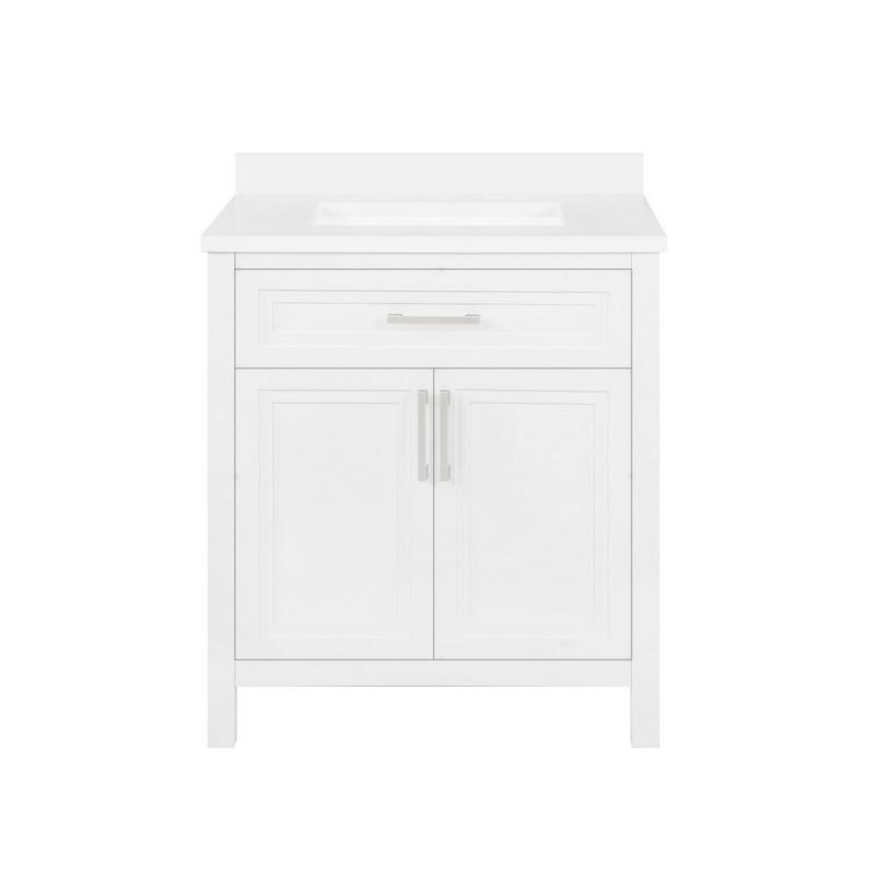 Ove Decors 15vva Lane30 007ei Laney 30 Inch Single Sink Bathroom Vanity White