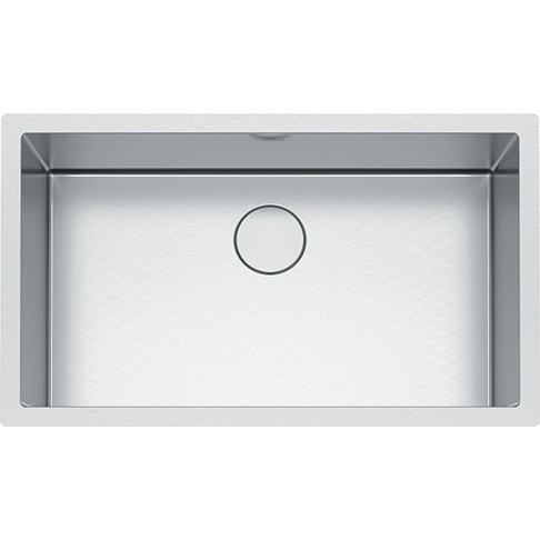 FRANKE PS2X110-30 PROFESSIONAL 2.0 SERIES 32-1/2 INCH UNDERMOUNT SINGLE BOWL STAINLESS STEEL SINK, 16-GAUGE