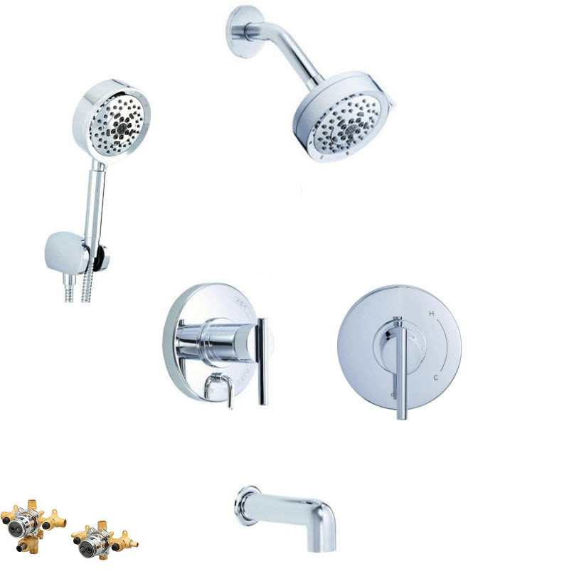 DANZE PARMA COMBO PACK SHOWER SYSTEM