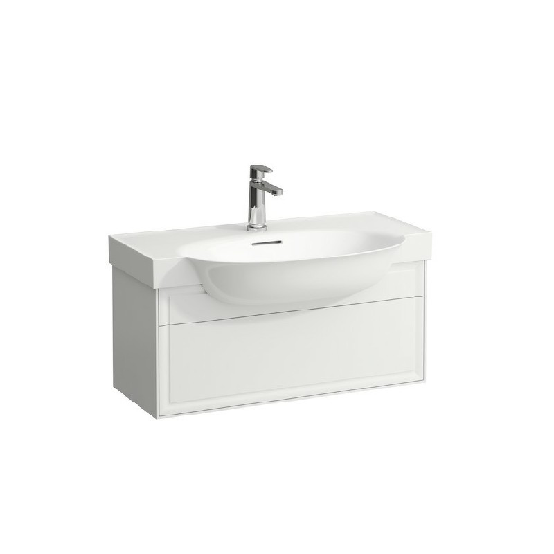 LAUFEN H4060410851 THE NEW CLASSIC 29 7/8 INCH VANITY UNIT WITH ONE DRAWER AND WASHBASIN