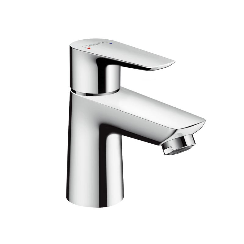 Hansgrohe 71702001 Talis E Single Hole Basin Mixer 80 without Pop-Up ...