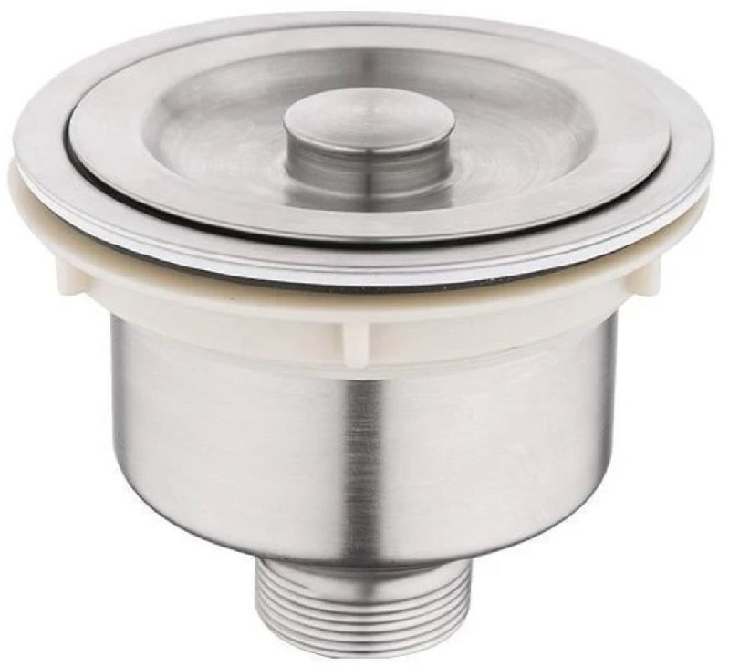AMERICAN IMAGINATIONS AI-29372 4 1/2 INCH STAINLESS STEEL KITCHEN SINK STRAINER - BRUSHED NICKEL