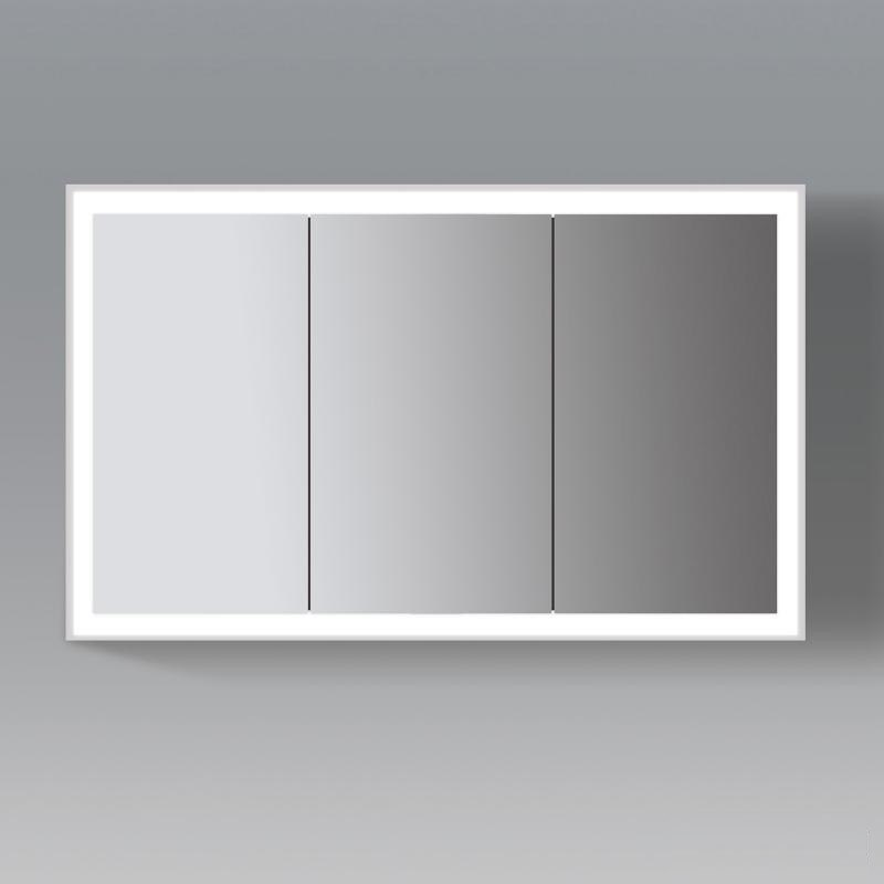 Duravit LC755300000 L Cube 47 1/4 X 27 1/2 Inch Mirror Cabinet With  Lighting ...