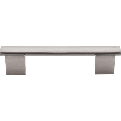 TOP KNOBS M1080 BSN BAR PULLS WELLINGTON BAR PULL 3-3/4 INCH CENTER TO CENTER BRUSHED SATIN NICKEL