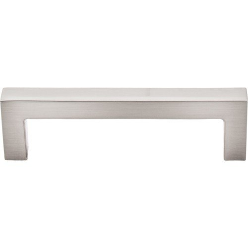 Top Knobs M1161 BSN Asbury Square Bar Pull 3-3/4 Inch Center to Center Brushed Satin Nickel