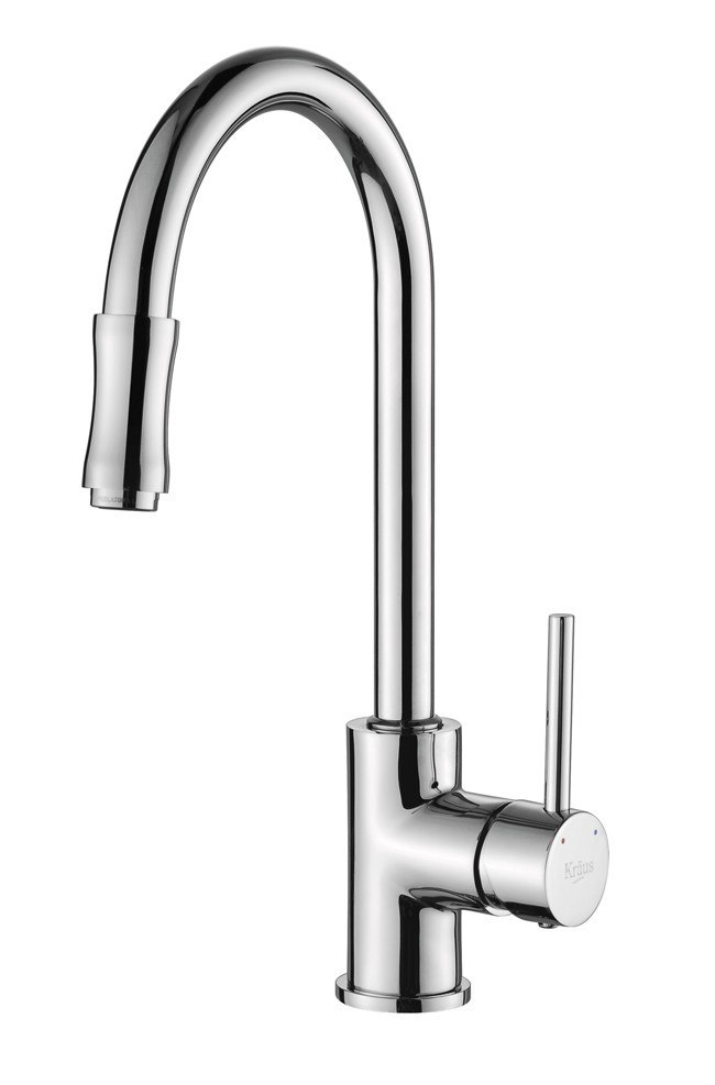Kraus KPF-1622 Single Lever Pull Out Kitchen Faucet