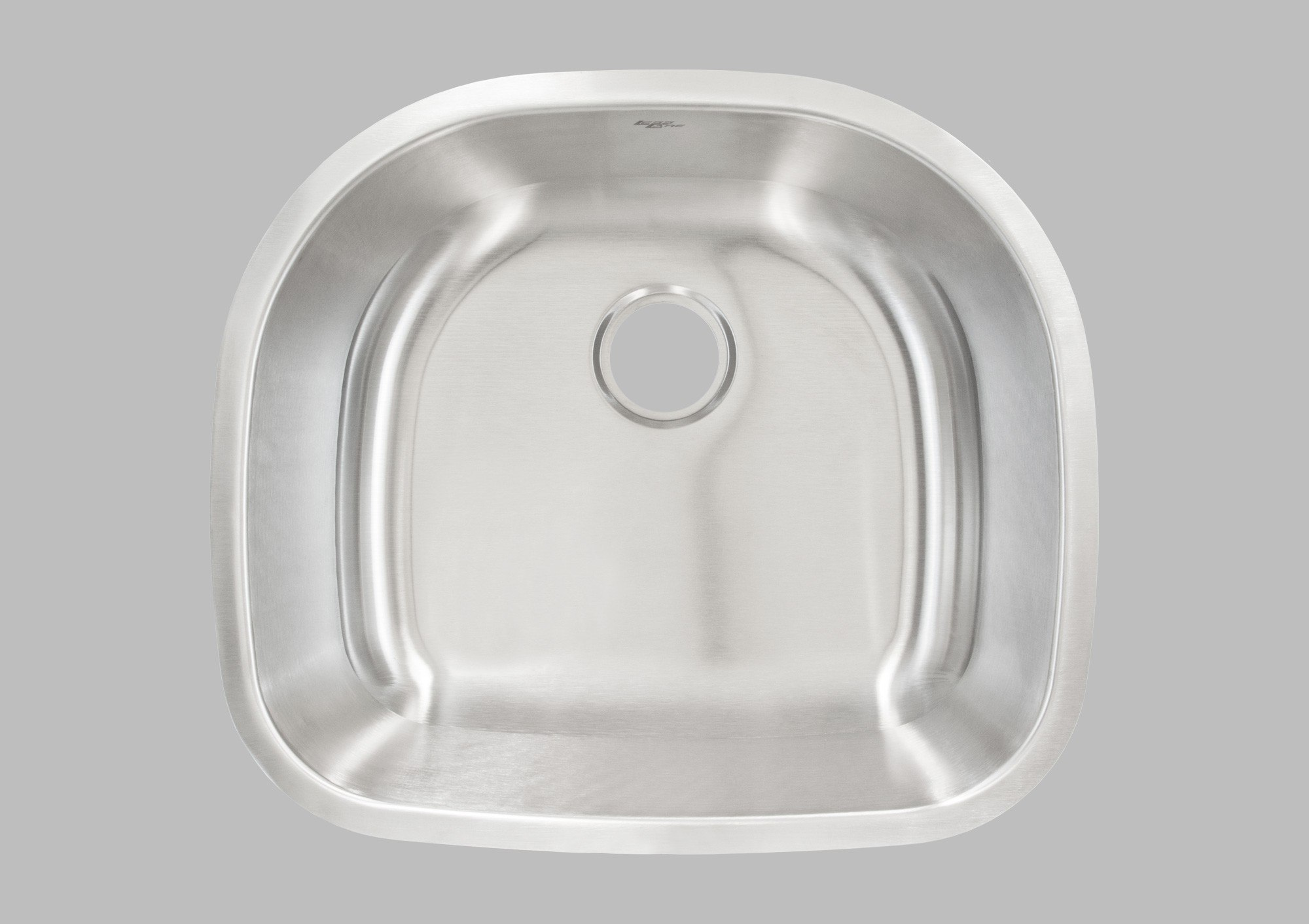 LESS CARE L105 23 INCH UNDERMOUNT SINGLE BOWL KITCHEN SINK