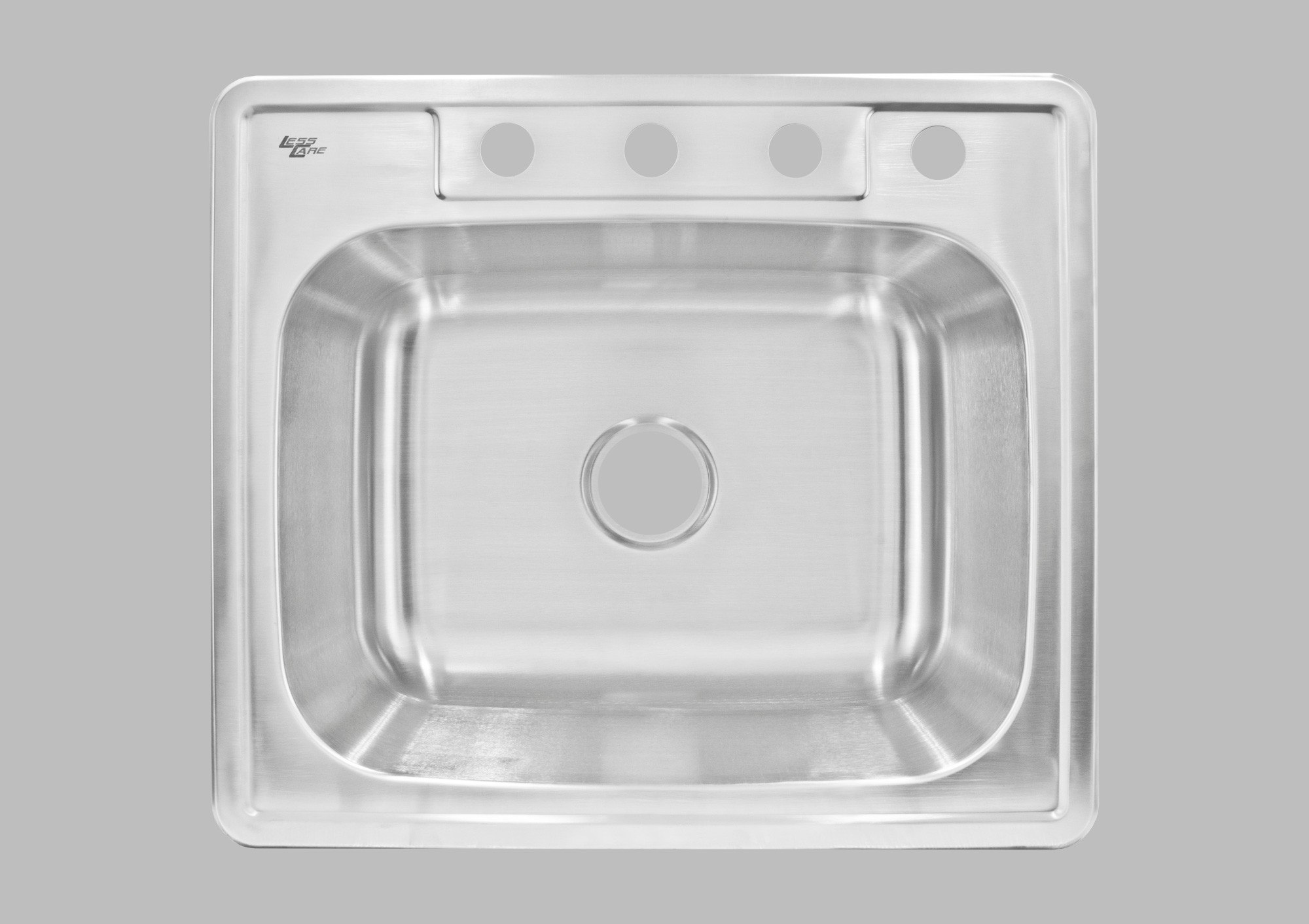 LESS CARE LT64 25 INCH KITCHEN AND BAR TOP MOUNT SINK