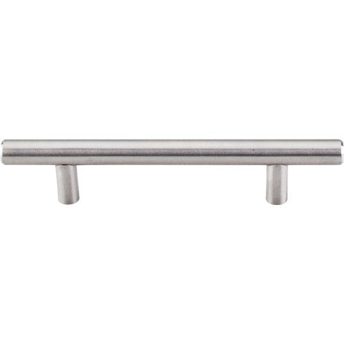 Top Knobs SSH2 SS Stainless Hollow Bar Pull 3-3/4 Inch Center to Center Brushed Stainless Steel