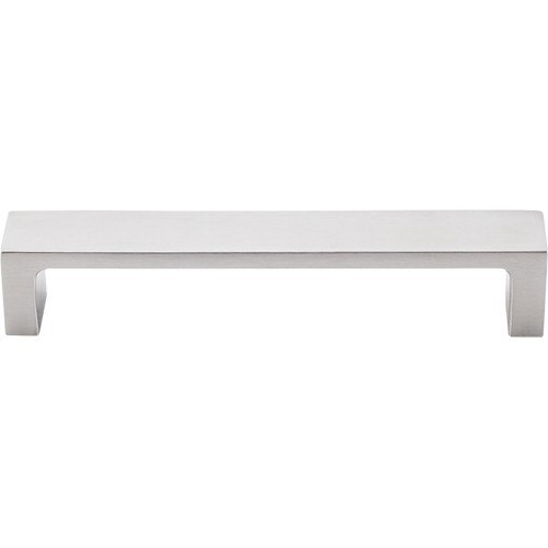 Top Knobs TK251SS Sanctuary II Modern Metro Pull 5 Inch Center to Center Brushed Stainless Steel