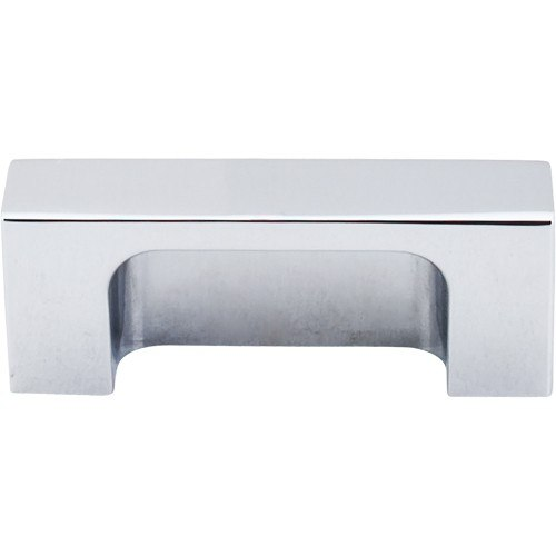 Top Knobs TK275PC Sanctuary II Modern Metro Tab Pull 2 Inch Center to Center Polished Chrome
