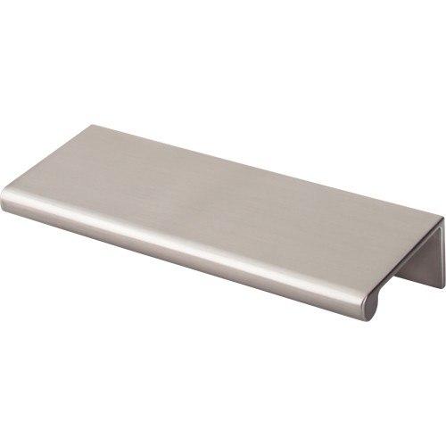 Top Knobs TK502BSN Mercer Europa Tab Pull 4 Inch Brushed Satin Nickel