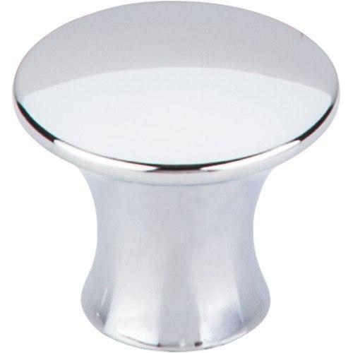 Top Knobs TK592PC Mercer Oculus Round Knob Large 1-5/16 Inch Polished Chrome