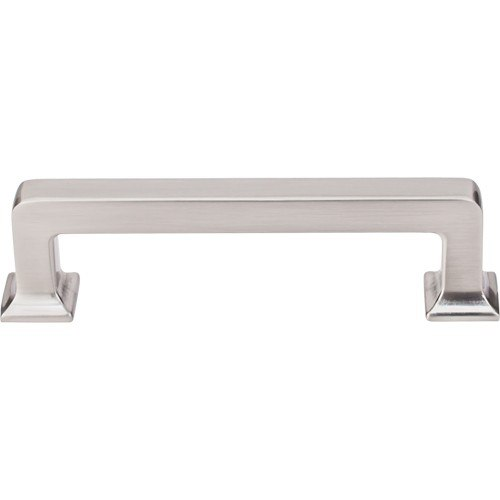Top Knobs TK703BSN Transcend Ascendra Pull 3-3/4 Inch Center to Center Brushed Satin Nickel