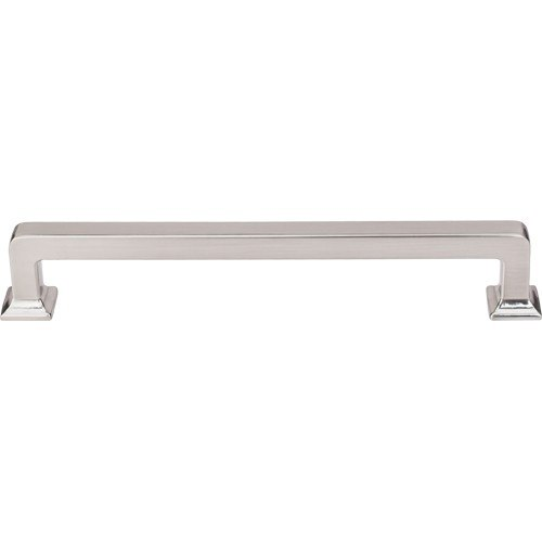 Top Knobs TK705BSN Transcend Ascendra Pull 6-5/16 Inch Center to Center Brushed Satin Nickel