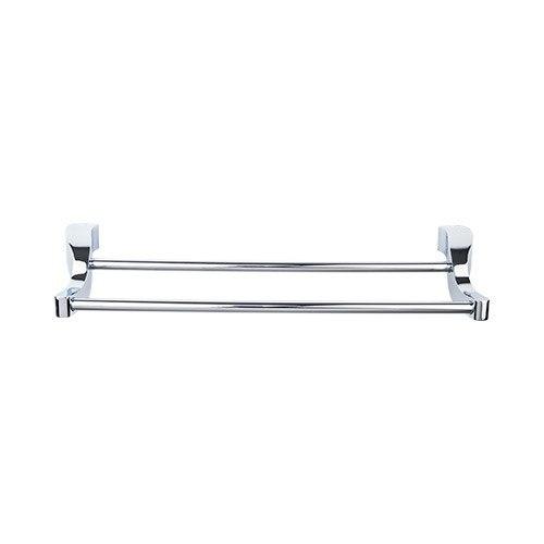 Top Knobs AQ7 Aqua Bath 18 Inch Double Towel Bar